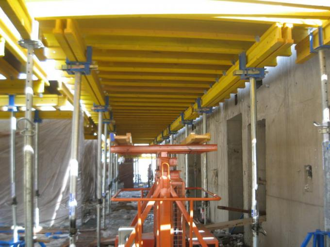 Safety Suspended Slab Formwork Shifting Trolley With Hydraulic Power