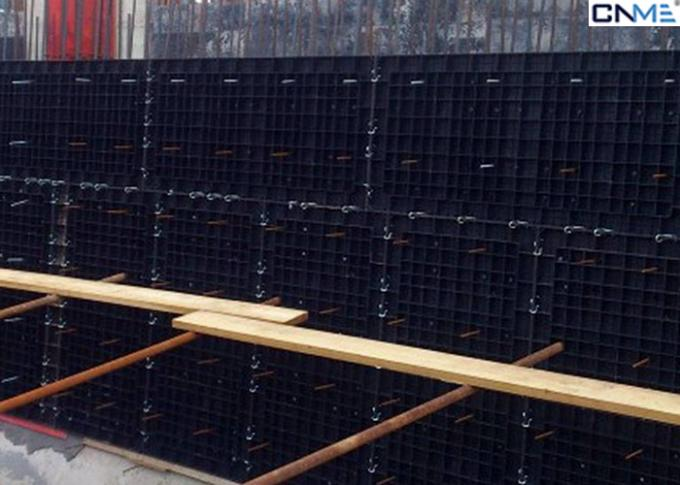 Reusable Trellis Modular Formwork System For Reinforced Concrete Walls