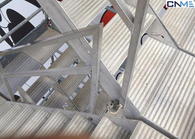 Convenient Ring - Lock Scaffolding System For Industrial / Civil Buildings