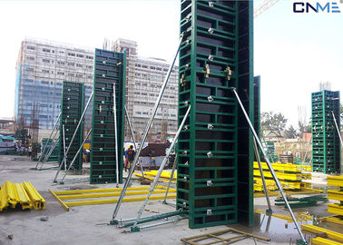 China Horizontal / Vertical Column Formwork Systems Long Life Span 120mm Thickness supplier