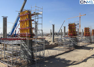 China Reusable Square Column Formwork Systems Powder Coated Surface Treatment supplier