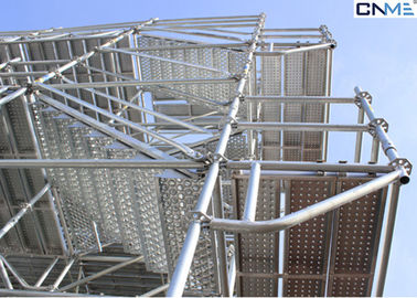 China Fast / Easy Assembly 48 Ring Lock System Scaffolding For Providing Safe Working Area supplier