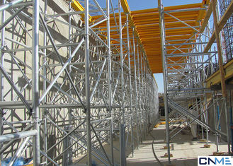China Hot Galvanized 60 Ringlock Scaffolding System , Scaffold Support Systems supplier