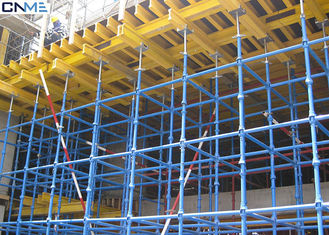 China Shoring Scaffolding Systems Cuplock System Scaffolding Painted / Galvanized Surface Treatment supplier