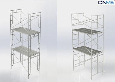 China Frame Scaffolding System , Tower Access Scaffolding Convenient Install supplier