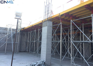 China Different Color Slab Formwork Systems Channel Steel / Timber Beam / Plywood Material supplier