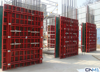 China Customized Size Wall Formwork System Various Material 65mm Thickness supplier
