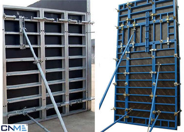 China 120 Steel Frame Wall Formwork System With Perfect Concrete Finish 120mm Thickness supplier