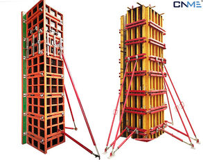China Easy Handling Wall Formwork System Push Pull Props Quick Length Adjustment supplier