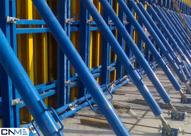 China Long Lifespan Wall Formwork System Painting / Powder Coated / Galvanized Surface Treatment supplier