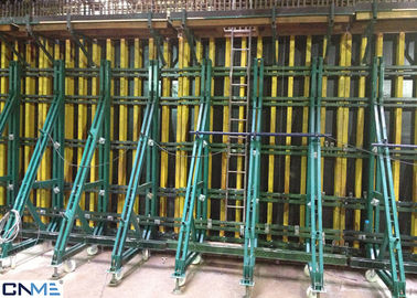 China 8.0m Wall Shuttering System , Single Sided Wall Formwork Without Tie Rod System supplier