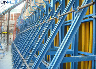 Steel Material Concrete Wall Formwork Systems Flexible