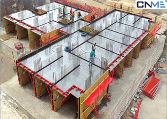 China Recycled Construction Material Tunnel Formwork System Steel Plate Face Panel supplier
