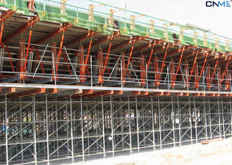 China Construction Bridge Formwork Systems Large Area High Cantilever Loads supplier