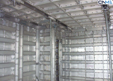 China High Effective Natural Aluminium System Formwork , 64mm Thickness supplier