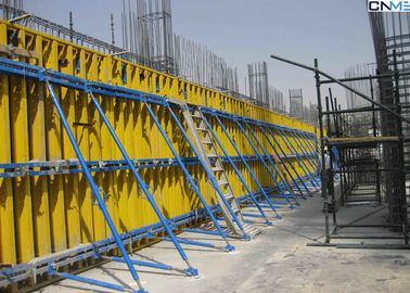 China Adjustable Push Pull Brace to Plumb Wall Formwork Systems / Erection In Concrete Work supplier