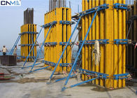 China Eco Friendly Rectangular Column Formwork Products For Concrete Construciton factory