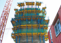 Professional Self Climbing Scaffold System , Auto Climbing Formwork System AC50-8