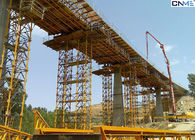 Durable Bridge Formwork Systems High Precision Wide Range Height Adjustment