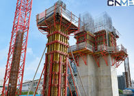 Commercial Towers Column Formwork Systems , Steel Waling Wall Formwork Systems ,