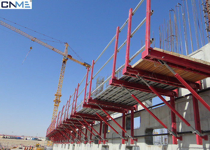 Light Weight Crane Lifted Climbing Formwork System To