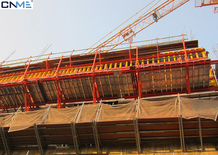 Safety Cantilever Scaffolding System Self Climbing