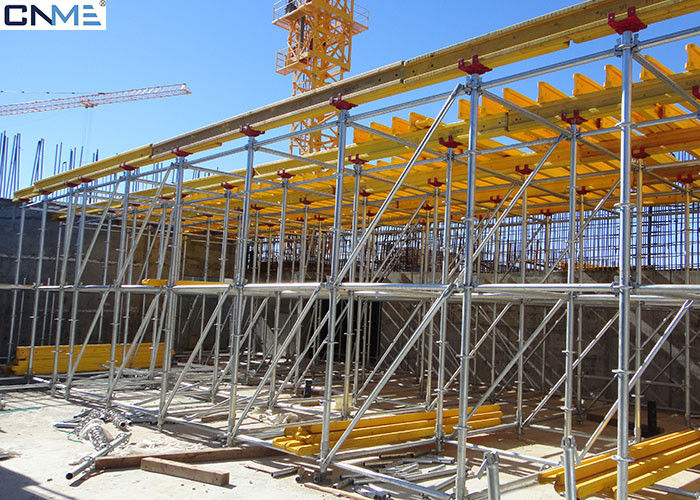Scaffolding And Shuttering : Timber beam slab shuttering system house formwork