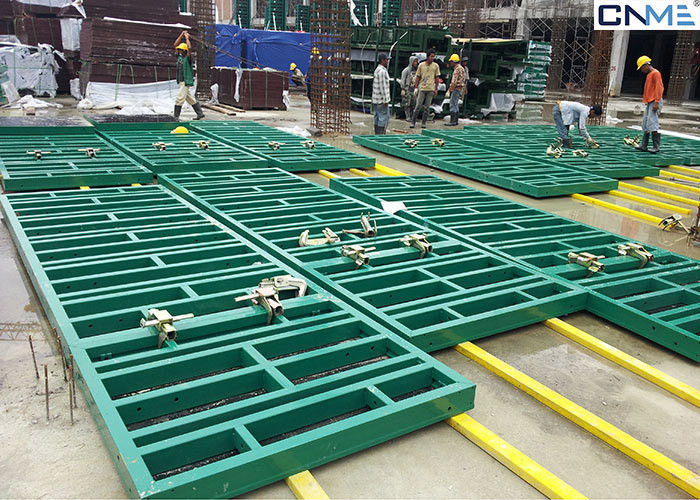 Reusable Plywood Concrete Wall Forms Metal Forms For