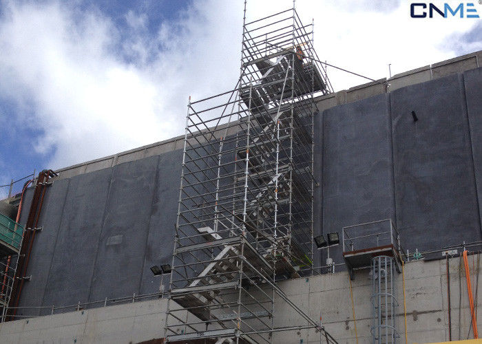Aluminum Scaffolding Systems : Aluminium stair type concrete shoring systems