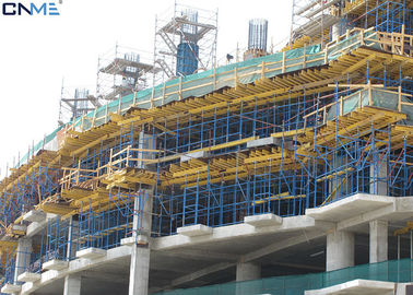 Safety Hanging Scaffolding Systems / Cantilever Scaffolding System Steel Tube Material