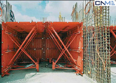 China Economic Tunnel Formwork System / Steel Formwork System Powder Coated Surface Treatment factory