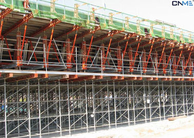 Construction Bridge Formwork Systems Large Area High Cantilever Loads