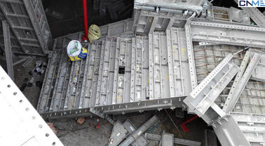 Light Weight Concrete 65 Aluminium Formwork System With Plywood Formwork
