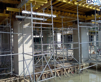 Ring - Lock Shoring Scaffolding Systems For Buildings / Bridges / Tunnels