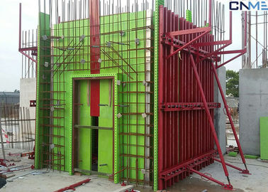 China Adjustable Wall Steel Formwork System Panel Strut , Flexible Concrete Formwork Secure factory