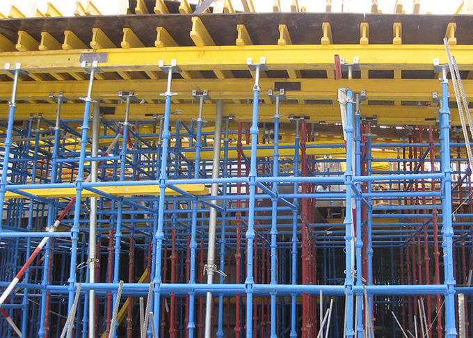 Shoring Scaffolding Systems Cuplock System Scaffolding Painted / Galvanized Surface Treatment