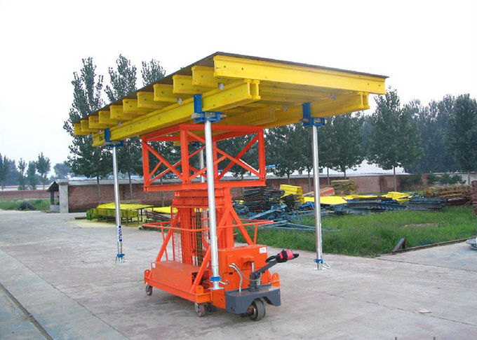 High Speed Concrete Slab Formwork Systems Steel Material 1000kg-1100kg Bearing Capacity