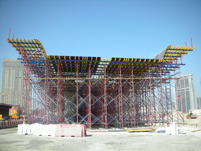 Professional Cantilever Bridge Deck Formwork For Different Corss Sections