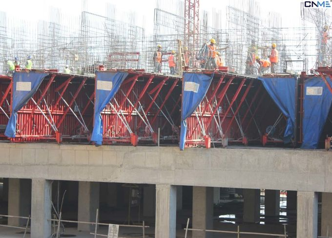 Recycled Construction Material Tunnel Formwork System Steel Plate Face Panel