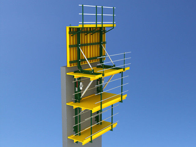 Flexible Auto Climbing System , Self Climbing Formwork System Adjustable