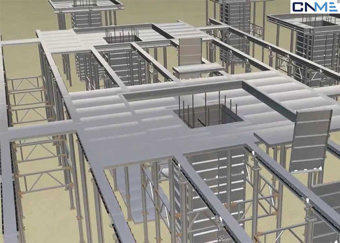 4mm Panel Aluminium Formwork System / Formwork For Slabs & Beams